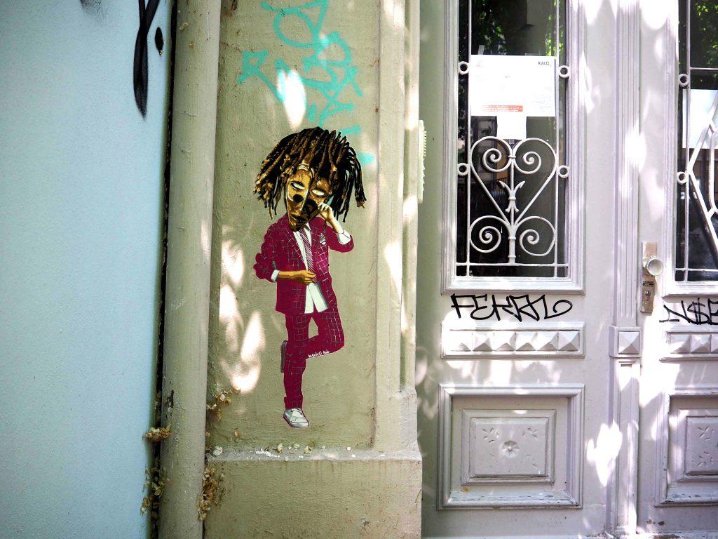 Mann mit Maske von Marshal Arts
