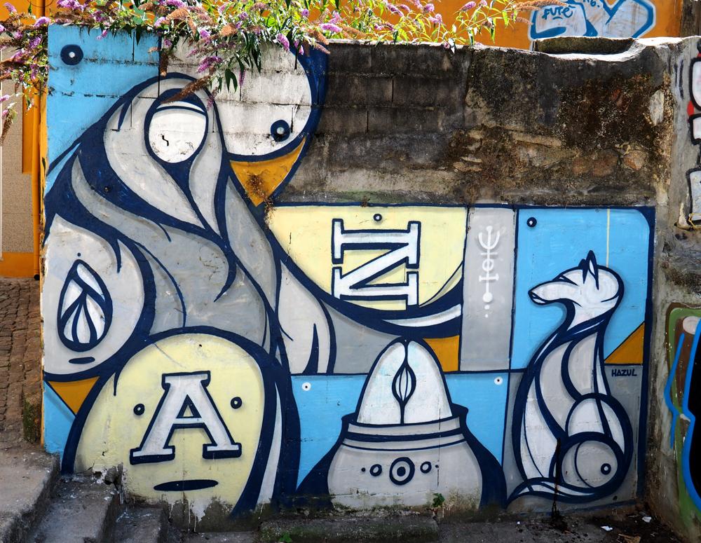 Mural von Hazul