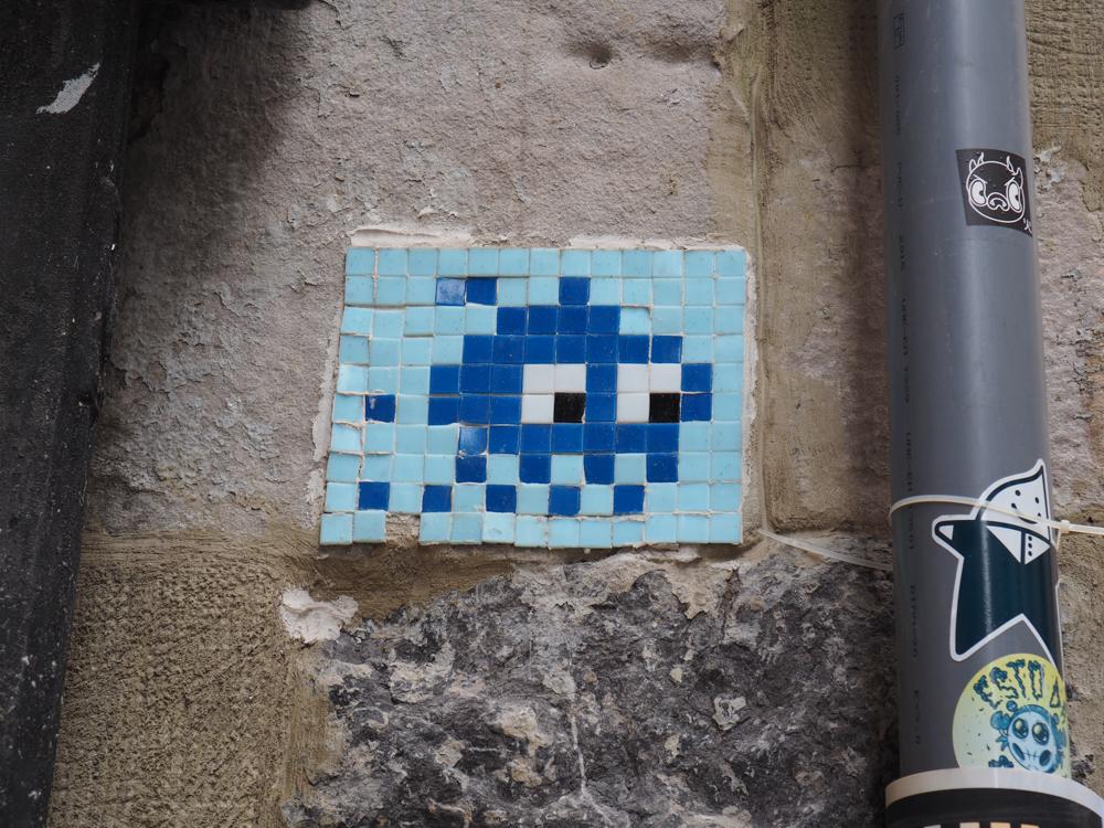 Mosaik von Invader