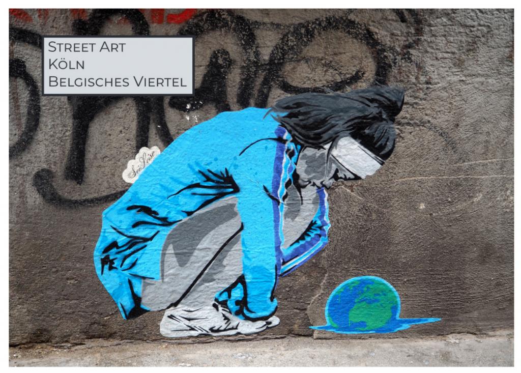Street Art Buch über Köln Belgisches Viertel