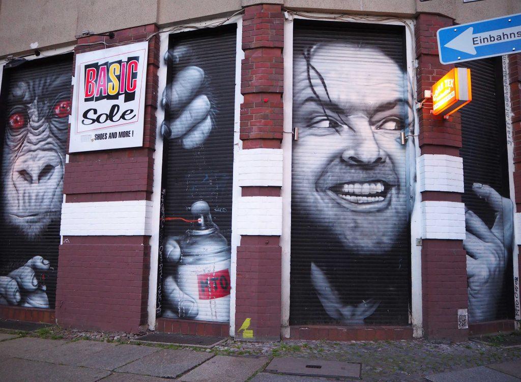 Jack Nicholson begrüßt Kreuzberg