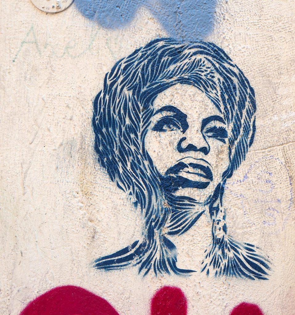 Frauen Stencil