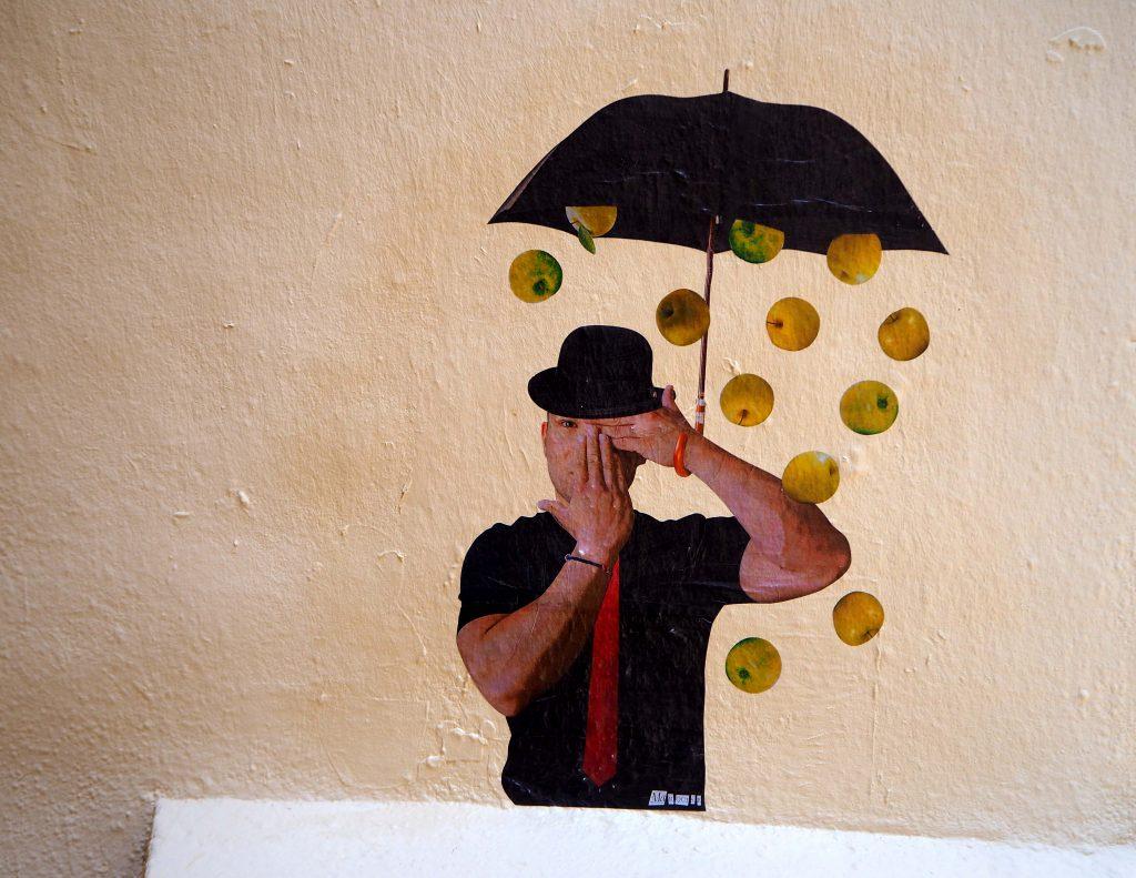 es regnet Äpfel