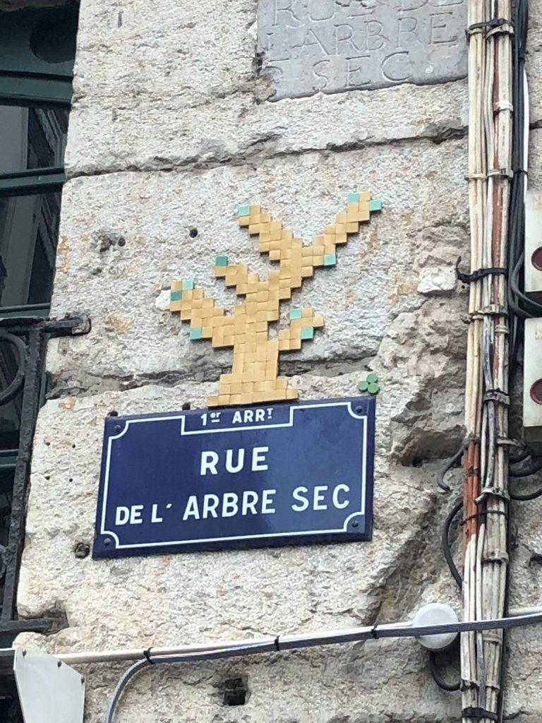 Rue de l´arbre sec