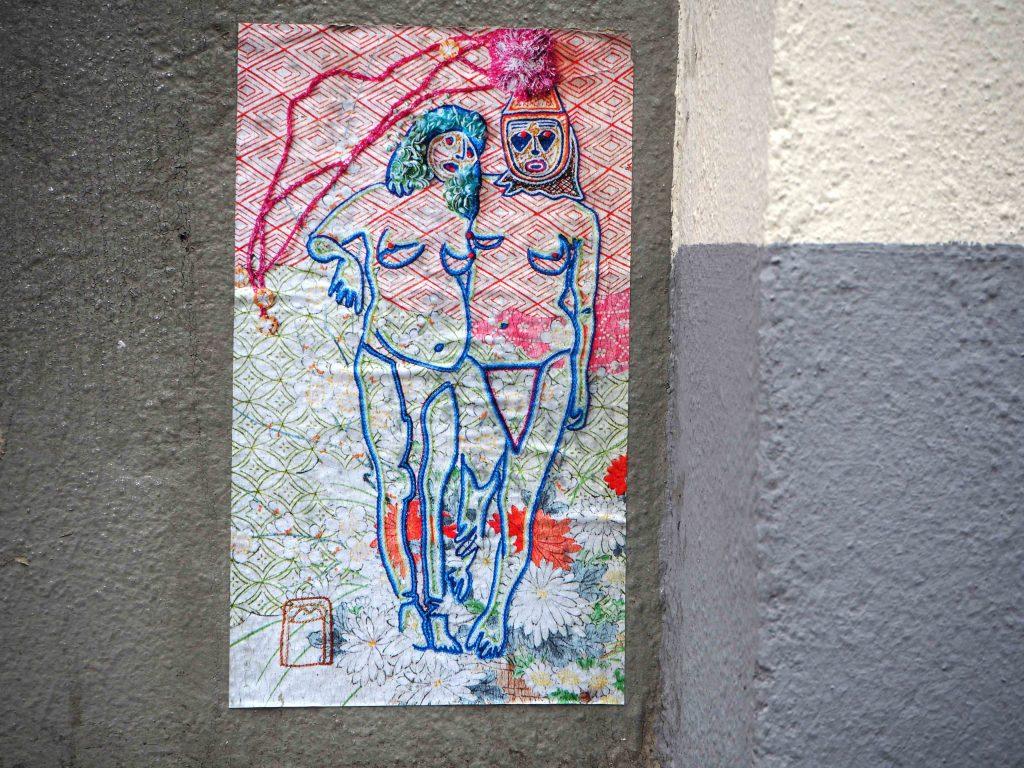 zwei nackte Frauen