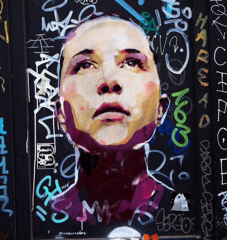 farbiges Portrait