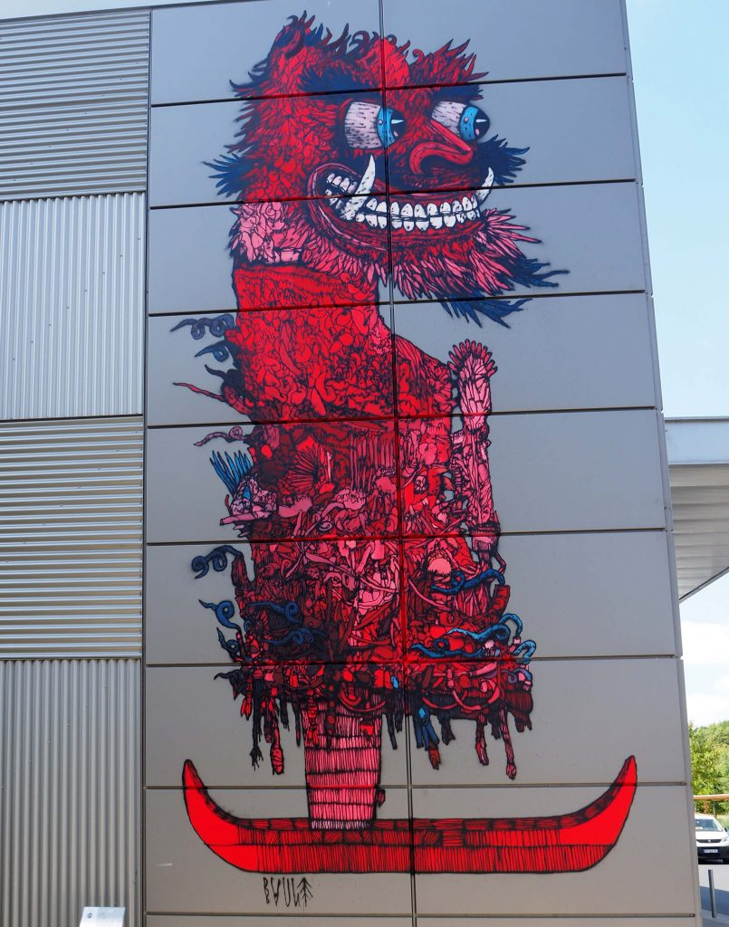 rotes Monster
