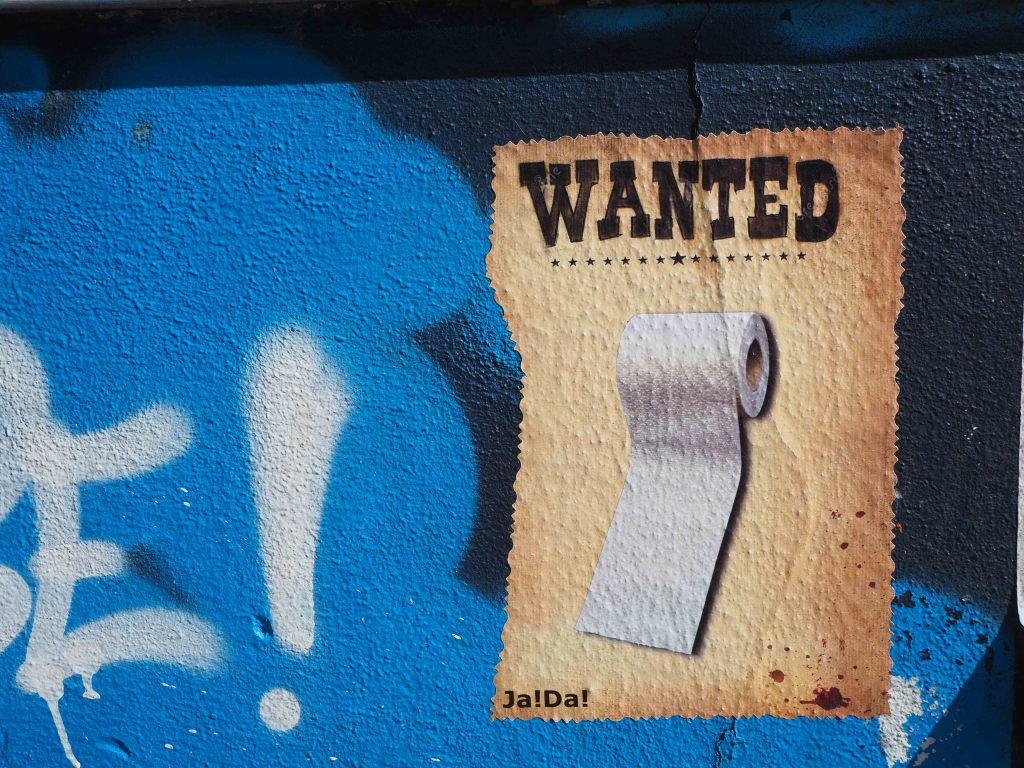 Wanted for Klopapier
